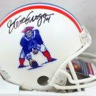 Steve Grogan Autographed Signed New England Patriots Mini Helmet JSA