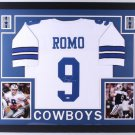 Tony Romo Autographed Signed Framed Dallas Cowboys Jersey JSA