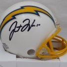 Justin Herbert Autographed Signed Los Angeles Chargers Mini Helmet BECKETT