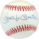 Mickey Mantle New York Yankees Autographed Signed Baseball BECKETT