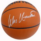 Wes Unseld Washington Bullets Signed Autographed Spalding Basketball BECKETT