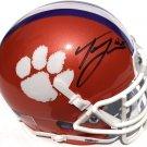 Trevor Lawrence Autographed Signed Clemson Tigers Mini Helmet JSA