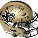 Drew Brees & Sean Payton Autographed Signed New Orleans Saints Speedflex Proline Helmet PSA