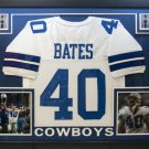 Bill Bates Autographed Signed Framed Dallas Cowboys Jersey JSA