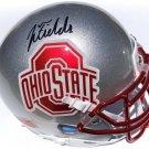 Justin Fields Autographed Signed Ohio State Buckeyes Mini Helmet PSA