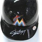 Giancarlo Stanton Signed Autographed Miami Marlins Mini Batting Helmet PAAS