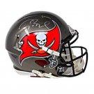 Tom Brady Autographed Signed Tampa Bay Buccaneers Speed Mini Helmet FANATICS