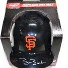 Barry Bonds Signed Autographed San Francisco Giants Mini Batting Helmet GLOBAL