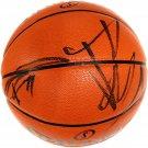 TIm Duncan & Tony Parker Spurs Autographed Signed NBA Basketball GLOBAL