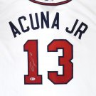Ronald Acuna Jr Autographed Signed Atlanta Braves Nike Jersey BECKETT