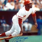 Joe Morgan Signed Autographed 16x20 Cincinnati Reds Photo PSA