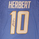 Justin Herbert Autographed Signed Los Angeles Chargers Jersey BECKETT