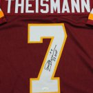 Joe Theismann Autographed Signed Washington Redskins Jersey JSA