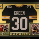 Ahman Green Autographed Signed Framed Green Bay Packers Jersey BECKETT