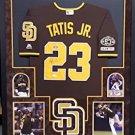 Fernando Tatis Jr. Autographed Signed Framed San Diego Padres Nike Jersey BECKETT