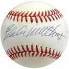 Eddie Mathews Braves Autographed Signed NL Baseball BECKETT