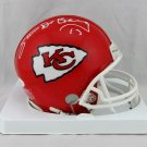 Steve DeBerg Signed Autographed Kansas City Chiefs Mini Helmet JSA