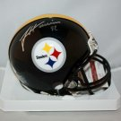 James Harrison Signed Autographed Pittsburgh Steelers Mini Helmet JSA