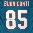 Nick Buoniconti Autographed Signed Miami Dolphins Jersey PSA