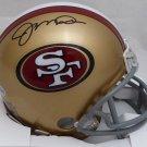 Joe Montana Autographed Signed San Francisco 49ers Mini Helmet BECKETT