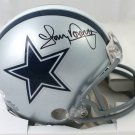 Tony Dorsett Signed Autographed Dallas Cowboys Mini Helmet BECKETT