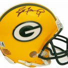 Brett Favre Signed Autographed Green Bay Packers Mini Helmet SCHWARTZ