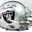 Howie Long Autographed Signed Oakland Raiders Mini Helmet BECKETT