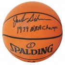 Jack Sikma Sonics Signed Autographed Spalding NBA Basketball SCHWARTZ