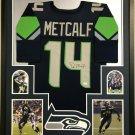 D.K. Metcalf Autographed Signed Seattle Seahawks Jersey BECKETT