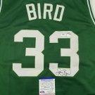 Larry Bird Autographed Signed Boston Celtics Jersey PSA
