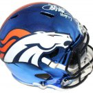 Terrell Davis Autographed Signed Denver Broncos FS Chrome Helmet RADTKE