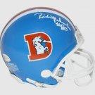Rick Upchurch Autographed Signed Denver Broncos Mini Helmet BECKETT