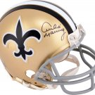 Archie Manning Autographed Signed New Orleans Saints Mini Helmet STEINER