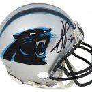 Julius Peppers Signed Autographed Carolina Panthers Mini Helmet SCHWARTZ