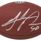 Julius Peppers Panthers Packers Signed Autographed Carolina Panthers NFL Football SCHWARTZ