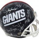 1986/1990 New York Giants SB Team (28) Signed Autographed FS Proline Helmet SCHWARTZ