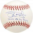 Shane Bieber Indians Signed Autographed Official Baseball BECKETT