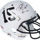 Drew Brees Autographed Signed Purdue Boilermakers FS Helmet FANATICS