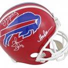 Kelly Reed & Thomas Autographed Signed Buffalo Bills Helmet JSA