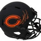 Julius Peppers Signed Autographed Chicago Bears FS Eclipse Helmet SCHWARTZ