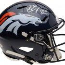 Peyton Manning Autographed Signed Denver Broncos FS Proline Helmet FANATICS