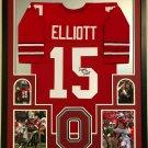 Ezekiel Elliott Autographed Signed Ohio State Buckeyes Jersey PAAS