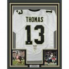 Michael Thomas Autographed Signed Framed New Orleans Saints Jersey JSA