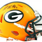 Davante Adams Signed Autographed Green Bay Packers Mini Helmet BECKETT