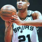 Tim Duncan Spurs Autograph Signed 8x10 Photo PAAS