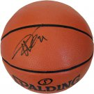 Tim Duncan Spurs Autograph Signed Spalding NBA Basketball PAAS