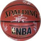 2015 Spurs Team (Popovich, Duncan, Parker +10) Spurs Autograph Signed Spalding NBA Basketball PAAS