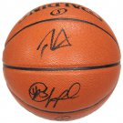 Chris Paul & Blake Griffin Clippers Autograph Signed Spalding NBA Basketball GLOBAL
