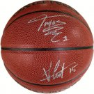 Vince Carter & Tracy McGrady Raptors Autograph Signed Spalding NBA Basketball PAAS