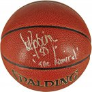 David Robinson Spurs Autographed Signed Spalding NBA Basketball FANATICS